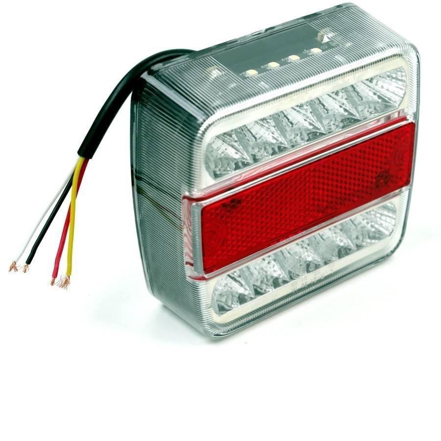 LED achterlicht 10x10cm basic € 9,95