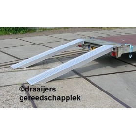 Aluminium Oprijplaten set heavy duty 2.5 meter